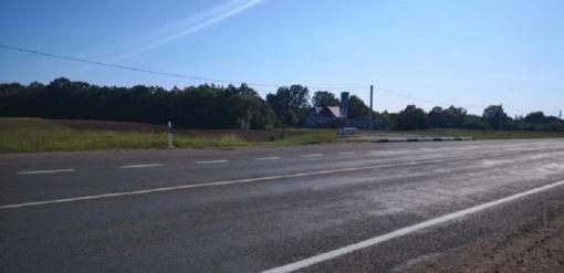 Gyventojai prašo užtikrinti eismo saugumą ties Rotuliais (Jurbarko PK viršininko A. Dumčiaus komentaras)