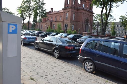 Panevėžyje keisis mokamos automobilių stovėjimo vietos