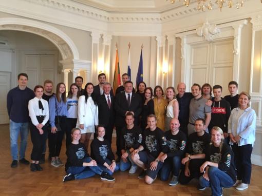 Helsinkyje į sąskrydį susirinko Šiaurės šalių ir Jungtinės Karalystės lietuvių jaunimo organizacijos