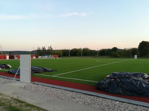 Futbolo stadionas tebelaukia naujo kupolo: senas buvo netikęs