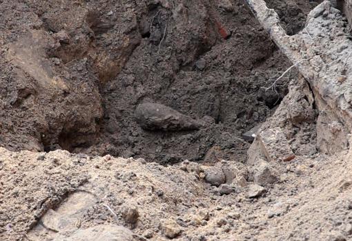 Raseinių rajone, prie Dubysos rastas sprogmuo