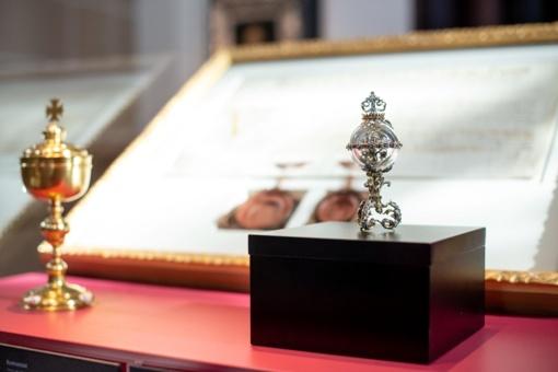 Vilniaus arkivyskupijai dovanojamas paveikslas su šv. Kazimiero atvaizdu