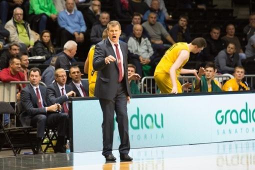 A. Sireika laukia ramių Lietuvos rinktinės rungtynių: Kanada nebus rimta varžovė