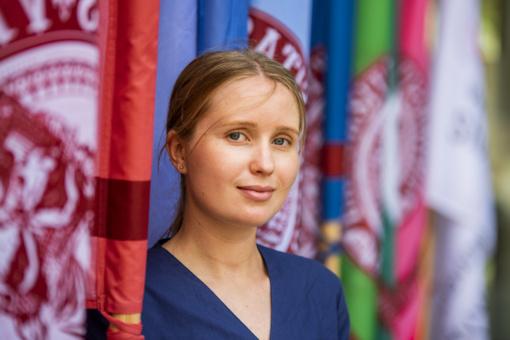 """Lietuvių kilmės studentė iš Rusijos: """"Lietuviai žino, kad turi turtingą paveldą – ir laisvę, kurią reikia ginti"""""""