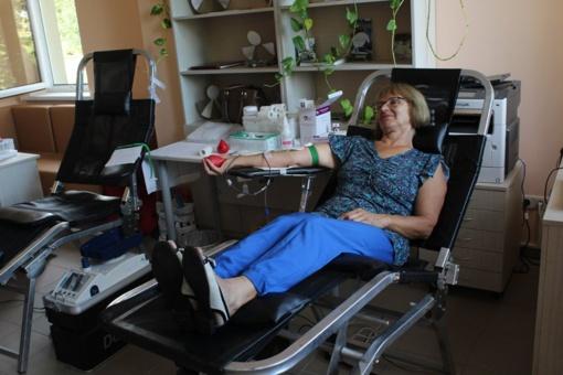 Vasara palydėta kilnia donorystės akcija