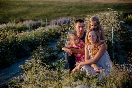 Prie Musninkų tekanti gėlių upė