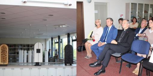 Telšių rajono savivaldybės meras tapo Krysztofo Sokolovskio parodos globėju