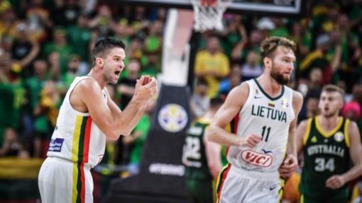 Ketvirtojo kėlinio šturmo neužteko: Lietuvos rinktinė krito prieš Australiją