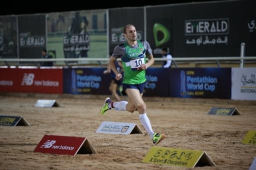 Penkiakovininkas J. Kinderis iškopė į pasaulio čempionato finalą