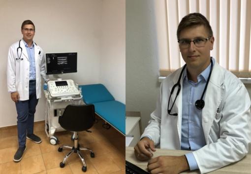 Jaunas kardiologas įgyvendino svajonę – sukūrė sau darbo vietą