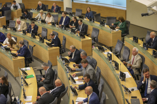 R. Baškienė ir V. Pranckietis Seimo valdybos posėdį komentavo skirtingai