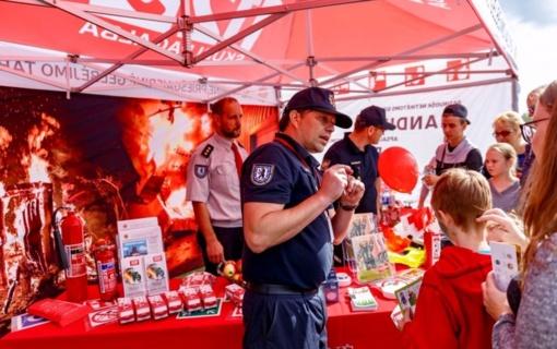 Miesto gimtadienyje – ugniagesių užduotys ir patarimai