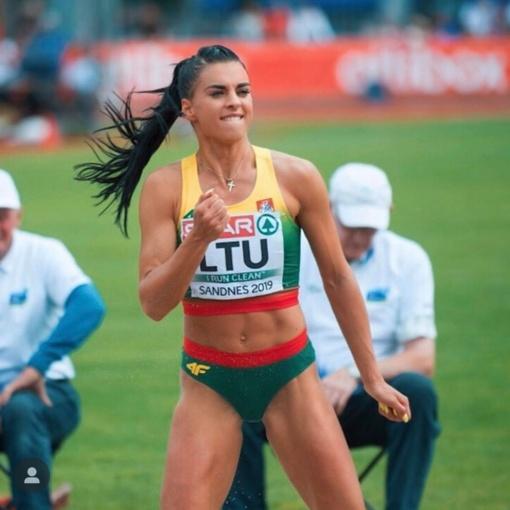 Trišuolininkė D. Kilty Europos–JAV rinktinių varžybose užėmė trečiąją vietą