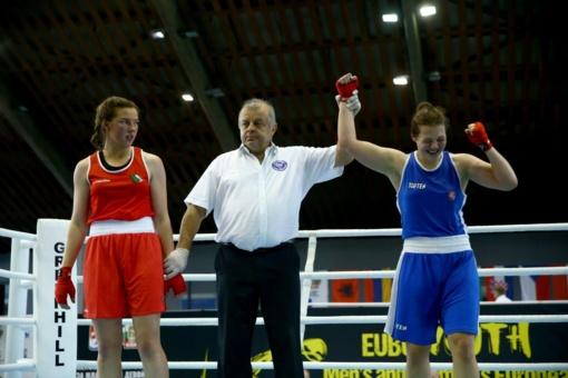 Lietuvos boksininkė – Europos čempionė!