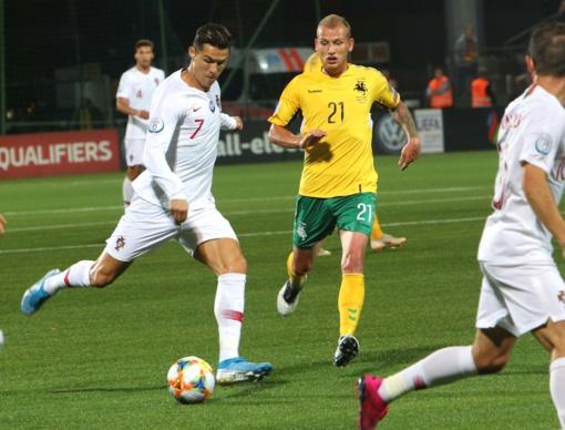 C. Ronaldo: svarbiausia buvo pasiekti pergalę