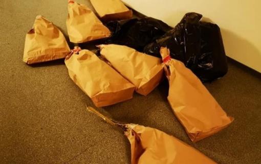 Marijampolės policija užkirto kelią dideliam narkotikų kiekiui