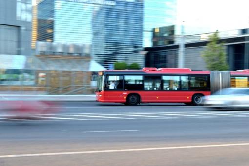 Naktį iš rugsėjo 13 į 14 d. Laisvės prospekte keisis viešojo transporto eismo organizavimas