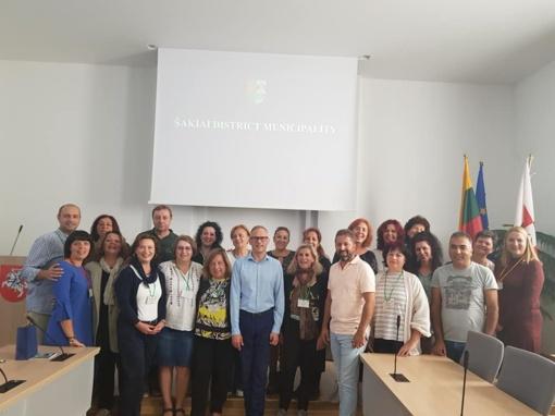Savivaldybėje svečiavosi svarbaus projekto dalyviai
