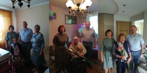 Ilgaamžėms jubiliatėms – Savivaldybės vadovų sveikinimai