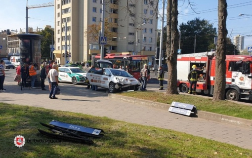 Praėjusią parą policija užregistravo 73 eismo įvykius, sužeistas 21 žmogus