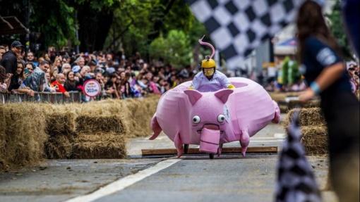 """Dėl """"Red Bull muilinių lenktynių"""" savaitgalį bus uždaromas Parodos kalnas"""