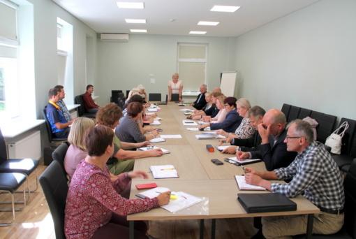 Švietimo įstaigų vadovų susitikimas