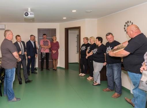 Lazdijų rajono savivaldybės vadovai dėkojo Žuvienės virimo čempionato prizininkams
