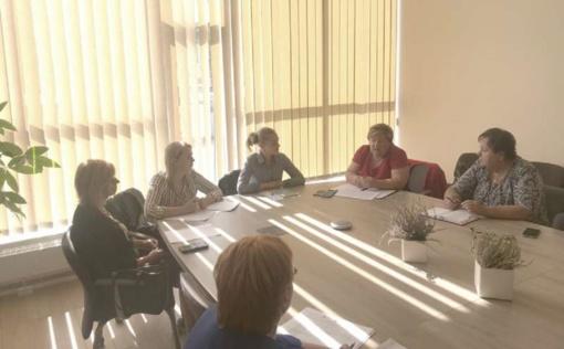 Diskutuota aktualiais Globos centro veiklos klausimais