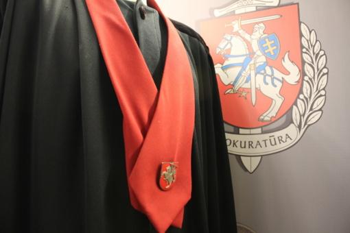 Generalinis prokuroras E. Pašilis atleido iš pareigų Klaipėdos apygardos prokuratūros prokurorą