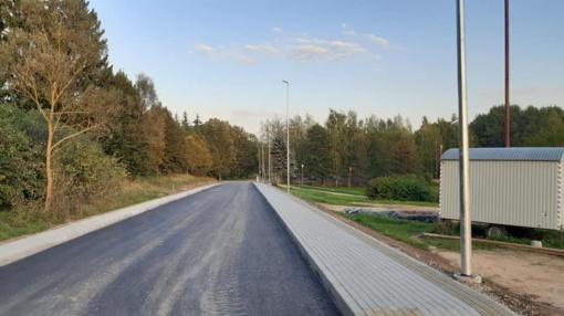 Nauja gatvė Ignalinoje