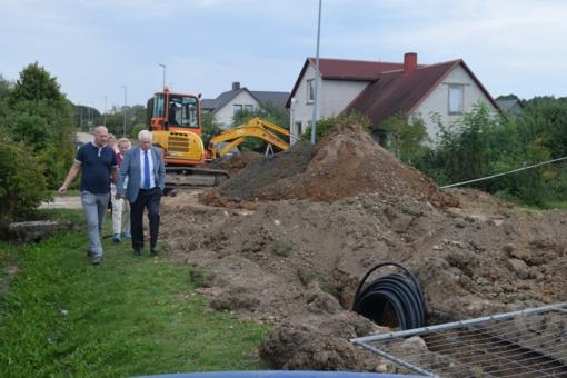 Savivaldybės atstovai domėjosi projektų eiga