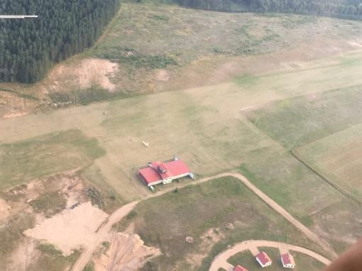 Kariuomenės vadas V.Rupšys: Ignalinos aerodromas darbais įrodo savo galimybes