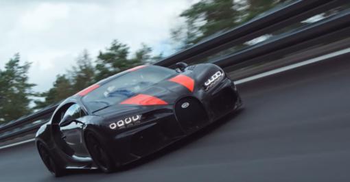 """""""Bugatti Chiron""""– greičiausias iš visų"""