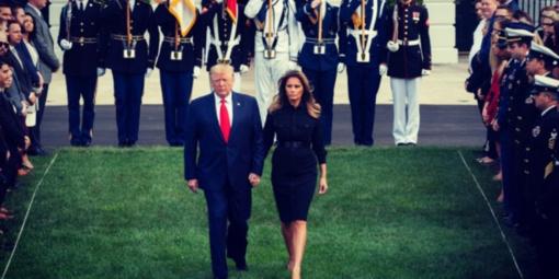 Internautai pasmerkė Melanią Trump