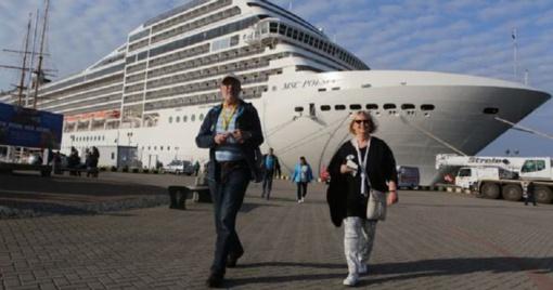 Klaipėdos uostas pristatomas kruizų parodoje