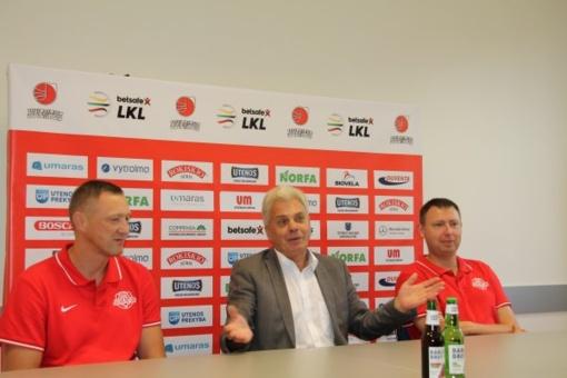 """Žydrūnas Urbonas: """"Esam konkurencingi ir kausimės iki galo su visais varžovais"""""""