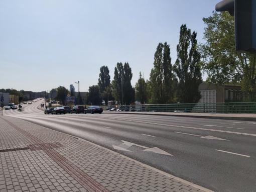Svarbių Klaipėdos gatvių rekonstrukcija gali strigti, trūkstant lėšų