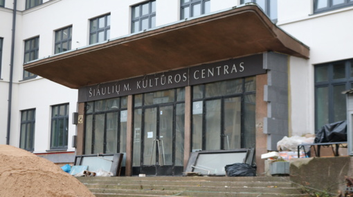 Vėluoja Šiaulių miesto kultūros centro renovacija
