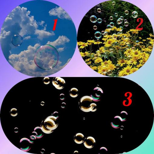 Testas: pasirinkite muilo burbulus ir mes jums pasakysime, ko turėtumėte atsikratyti