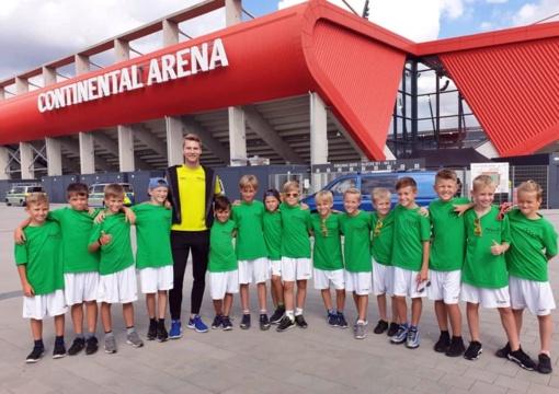 Du jauni šiauliečiai kartu BFS svečiavosi Lenkijoje, Čekijoje ir Vokietijoje