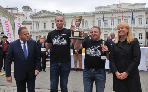 Prezidento taurė – Kauno rajono sportininkams Mantui Bytautui ir Mindaugui Kaminskui