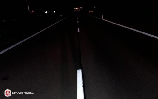 Šalčininkų rajone žuvo automobilio partrenktas pėsčiasis