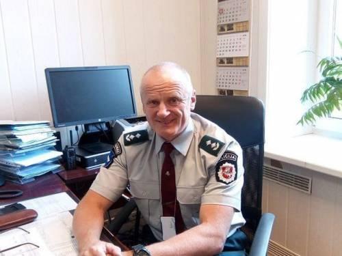 Darbą pradėjo naujasis Anykščių policijos komisariato viršininkas