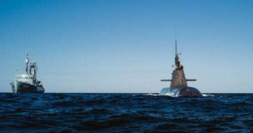 Į Klaipėdą atplaukia Vokietijos povandeninis laivas