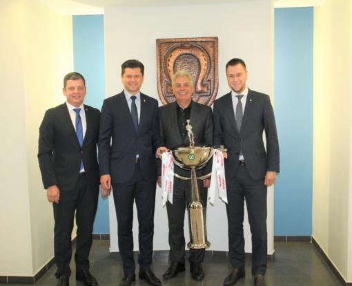 Utenoje vyks Lietuvos futbolo federacijos taurės finalo rungtynės