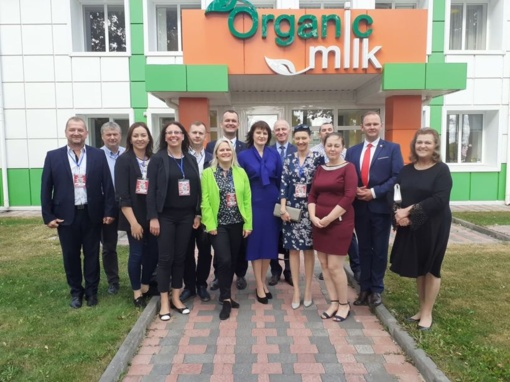 Savaitgalį savivaldybės atstovai bendravo su užsienio partneriais