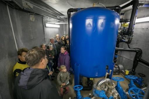 """""""Vilniaus vandenys"""" Kalnėnų gyventojams parodė išplėstą vandenvietę"""