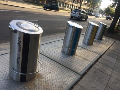 Panevėžys atsinaujina! Bendruomenė jau gali naudotis požeminiais konteineriais