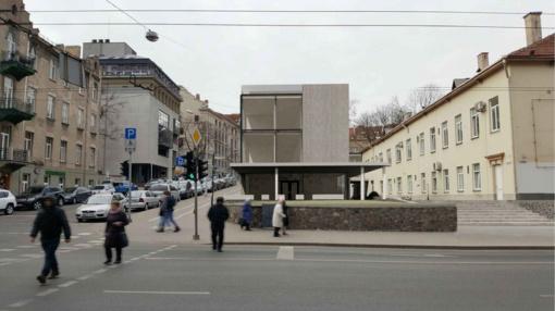 Vilniaus Centro poliklinika planuoja statyti priestatą – ruošiamasi perkelti F. Zappos paminklą