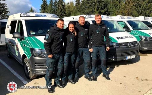 Geriausios šalies policijos komandos konkursas